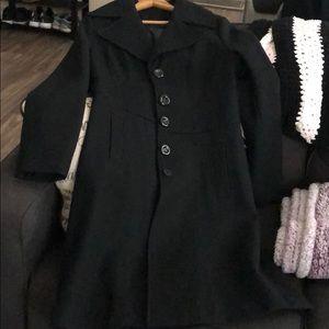 Nine West Pea Coat Long